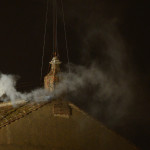 White smoke from the Sistine Chapel signals the waiting is nearly over