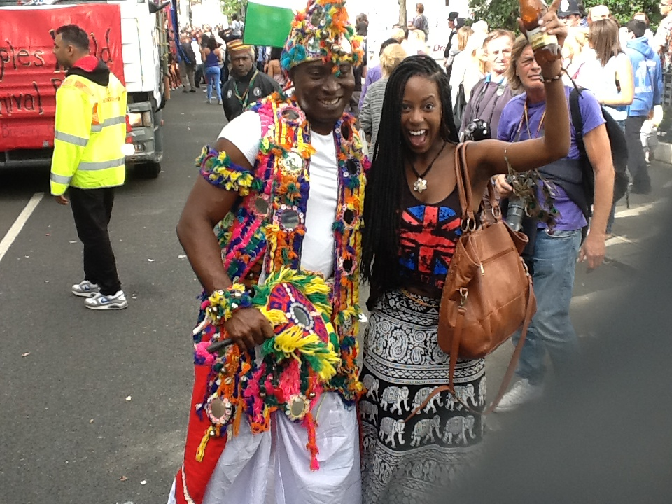 Rivers Float and Afro Beat at Notting Hill Carnival - African Voice