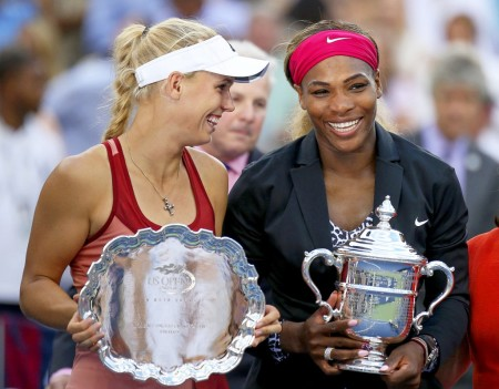 Williams' US Open win over Caroline Wozniacki was her only Grand Slam win this year
