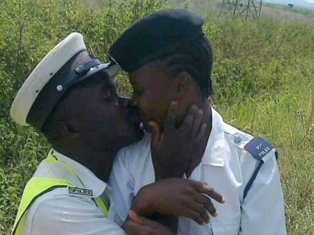 Unemployment sealed with a kiss