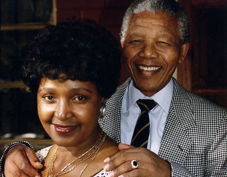 Winnie and Nelson Mandela separated two years after he was freed