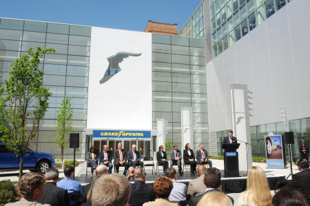 Goodyear opened its new global headquarters complex in 2013