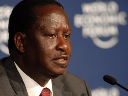 Opposition leader Raila Odinga opposed the law changes