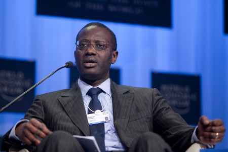 52-year-old Tidjane Thiam has twice been named Britain's most influential African