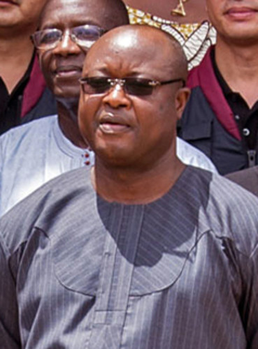 Vice President Samuel Sam-Sumana has fled his home and gone into hiding