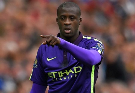 Yaya Toure scored a brace against Swansea to seal Manchester City a top three finish