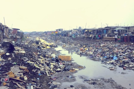 Security forces flattened the Accra shanty town known colloquially as Sodom and Gomorrah earlier this month to alleviate perennial flooding in the main city