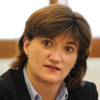 Nicky Morgan MP believes free education could be a significant factor in attracting migrants to Britain