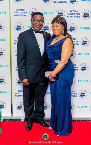 Matron & Patron: Golda & Mike Abiola Publisher, African Voice Newspaper and Founder & CEO of African Film Awards