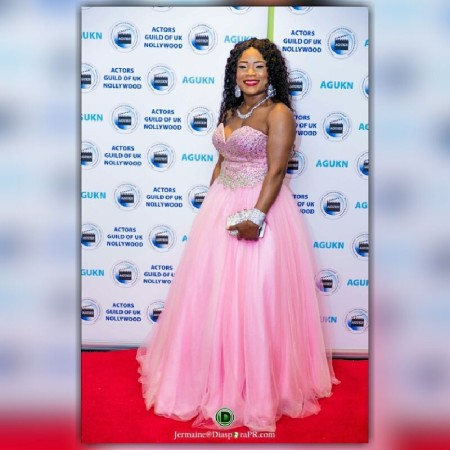 Stella Maris Okafor emerged as Nollywood Princess Of The Red Carpet
