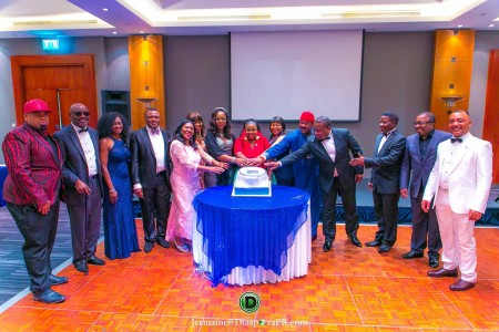 Cutting of the Inaugural cake