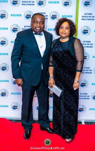 Patron: Chief & (Mrs) Bimbo Folayan former Chairman Central Association of Nigerians in the UK