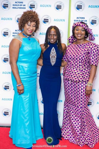 From left: Christy Amalu JP, Dr. Pauline Long, television presenter & founder of BEFFTA Awards and a guest.